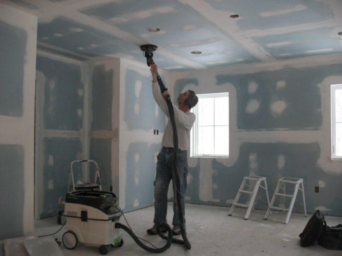 Cómo limpiar el polvo de los paneles de yeso antes de pintarlos