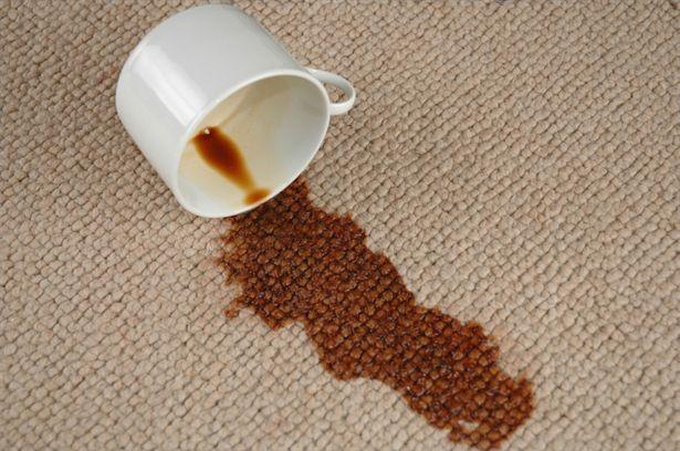 Trucos caseros para remover manchas de las alfombras