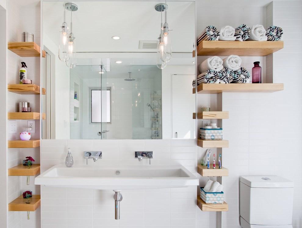 Como ampliar la capacidad de almacenamiento en el baño