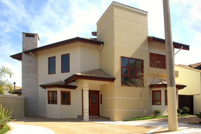 Trucos para elegir el color de la pintura exterior de casa