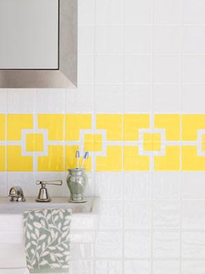 Decoración: Cómo pintar azulejos con acrílicos