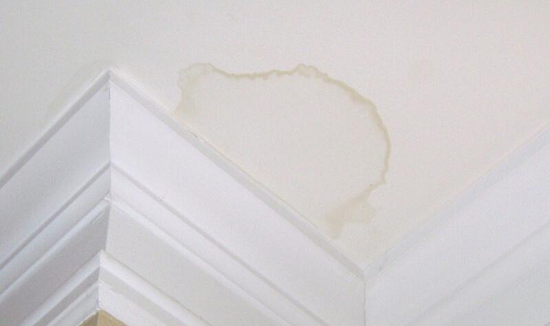 Cómo eliminar las manchas de humedad en el techo