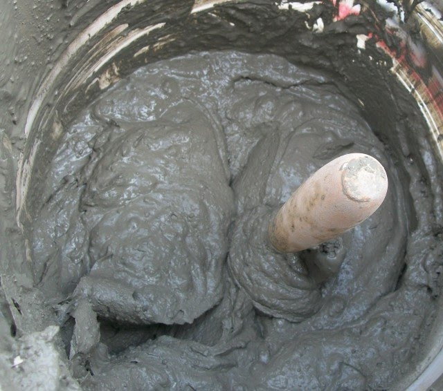 Mezcla y aplicación de mortero: Problemas que deben evitarse