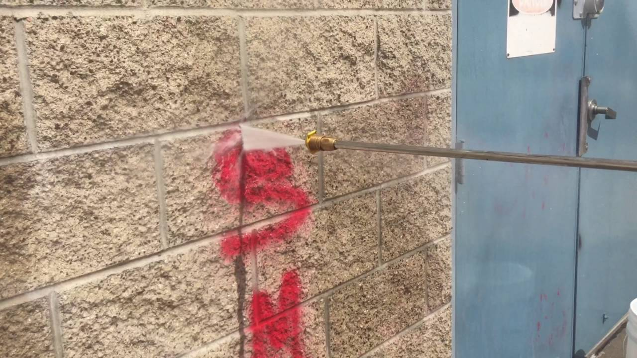 Cómo eliminar pintadas de una pared