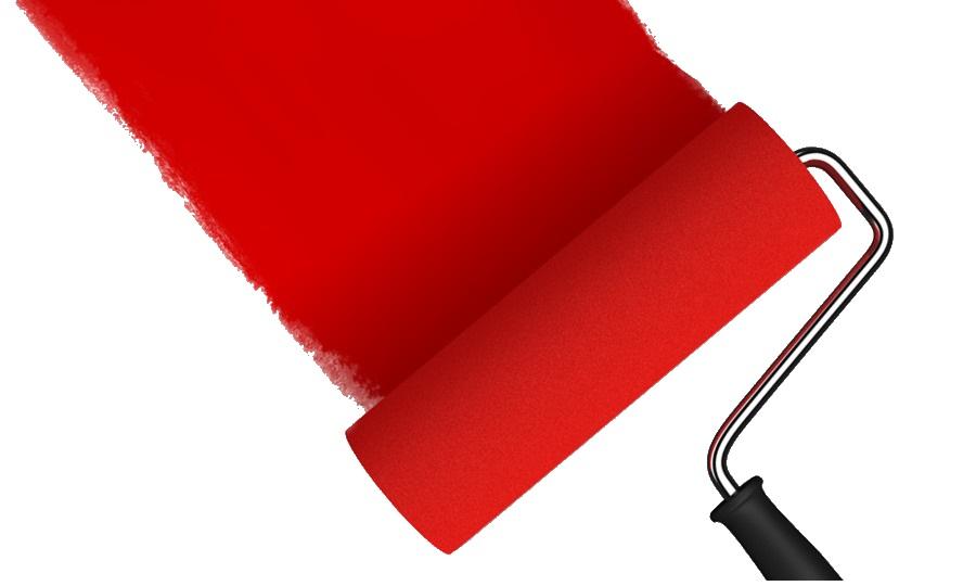 Cómo pintar una habitación con pincel o con rodillo