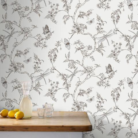 ¿Se puede usar papel tapiz en las paredes de la cocina?