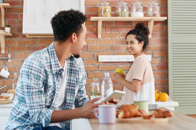 Cocina americana, no sólo para espacios reducidos
