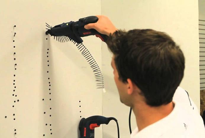 Atornilladores eléctricos para fijar paneles de yeso