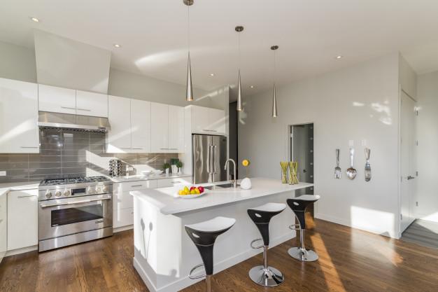 Muebles de cocina, materiales disponibles